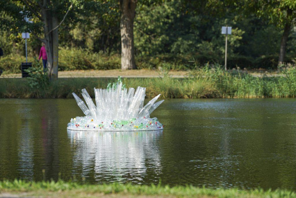 Trinkfair Plastikskulptur