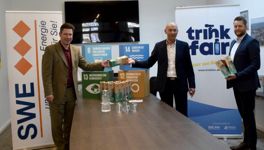 Die Stadtbau Ettlingen GmbH setzt auf Trinkwasser aus dem Hahn!