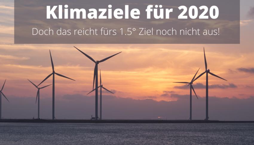 Deutschland erreicht Klimaziele 2020 doch noch