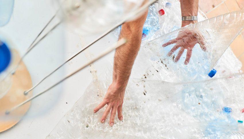Launch der trinkfair-Plastikskulptur am 18.09.20