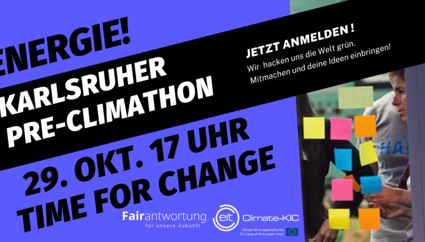 Pre-Climathon in Karlsruhe