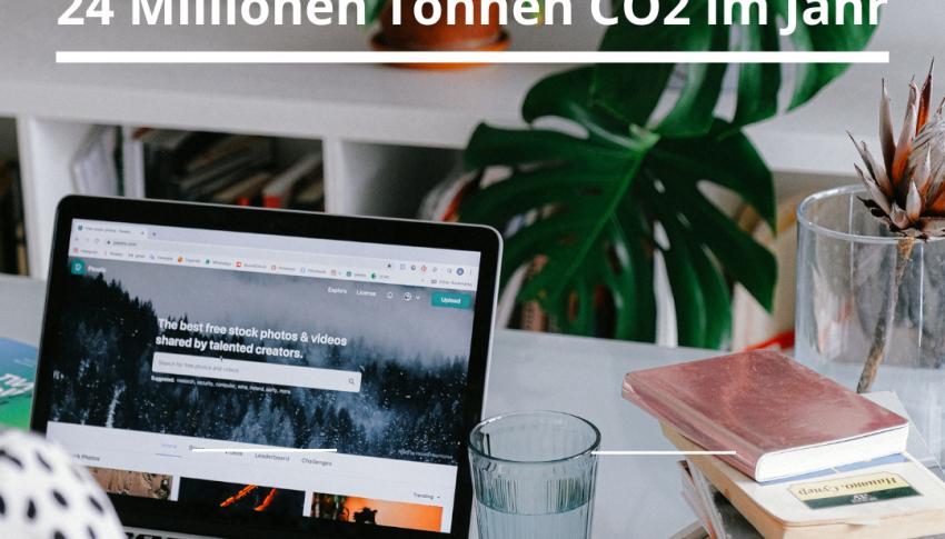 Homeoffice spart CO2-Emissionen