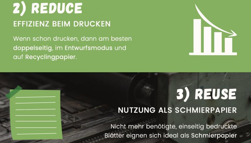 Nachhaltigkeit im Büro – der Drucker